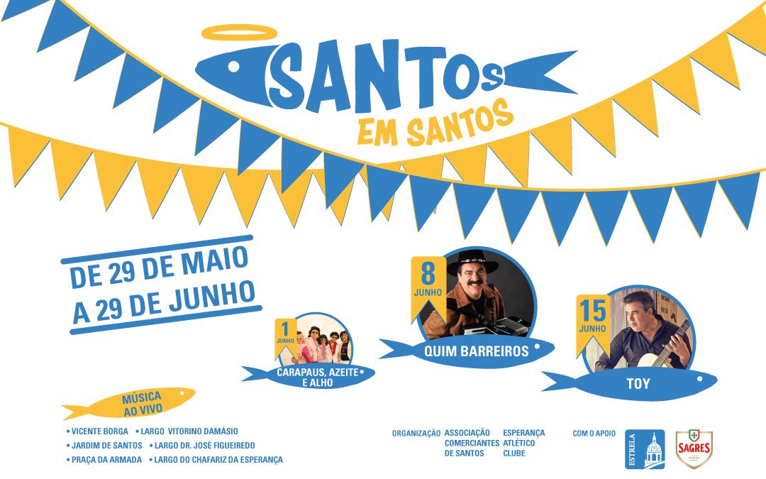 Santos em Santos
