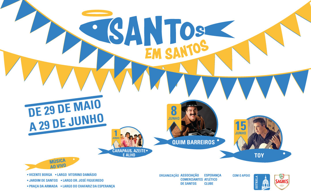 Santos em Santos – Quim Barreiros em noite inesquecível