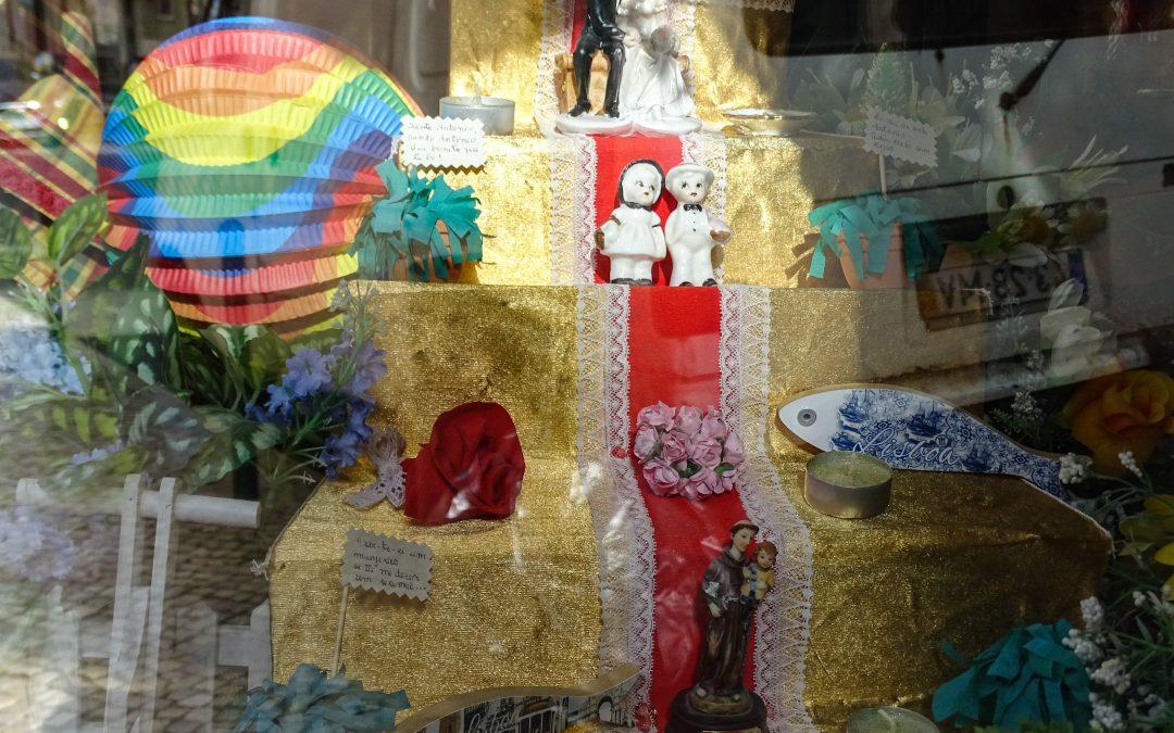 Homenagem ao Santo António – Participação na 5º edição dos Tronos de Santo António, da EGEAC e do Museu de Lisboa