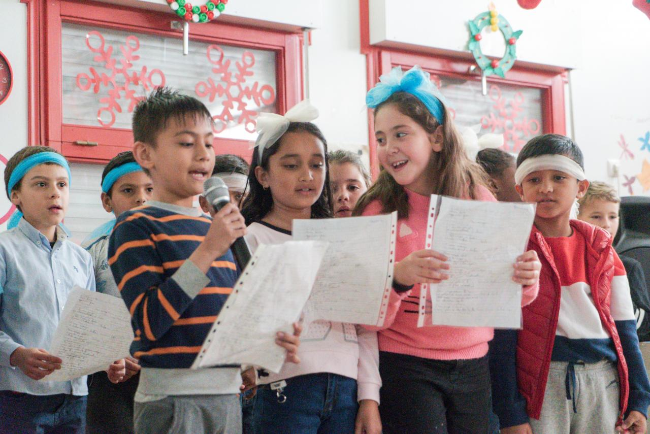 Escola Fernanda de Castro celebra o Natal