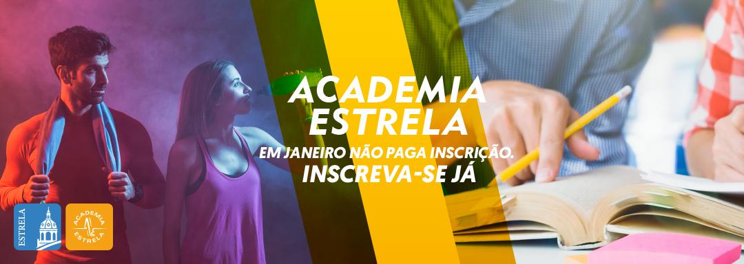 Comece 2020 na Academia Estrela