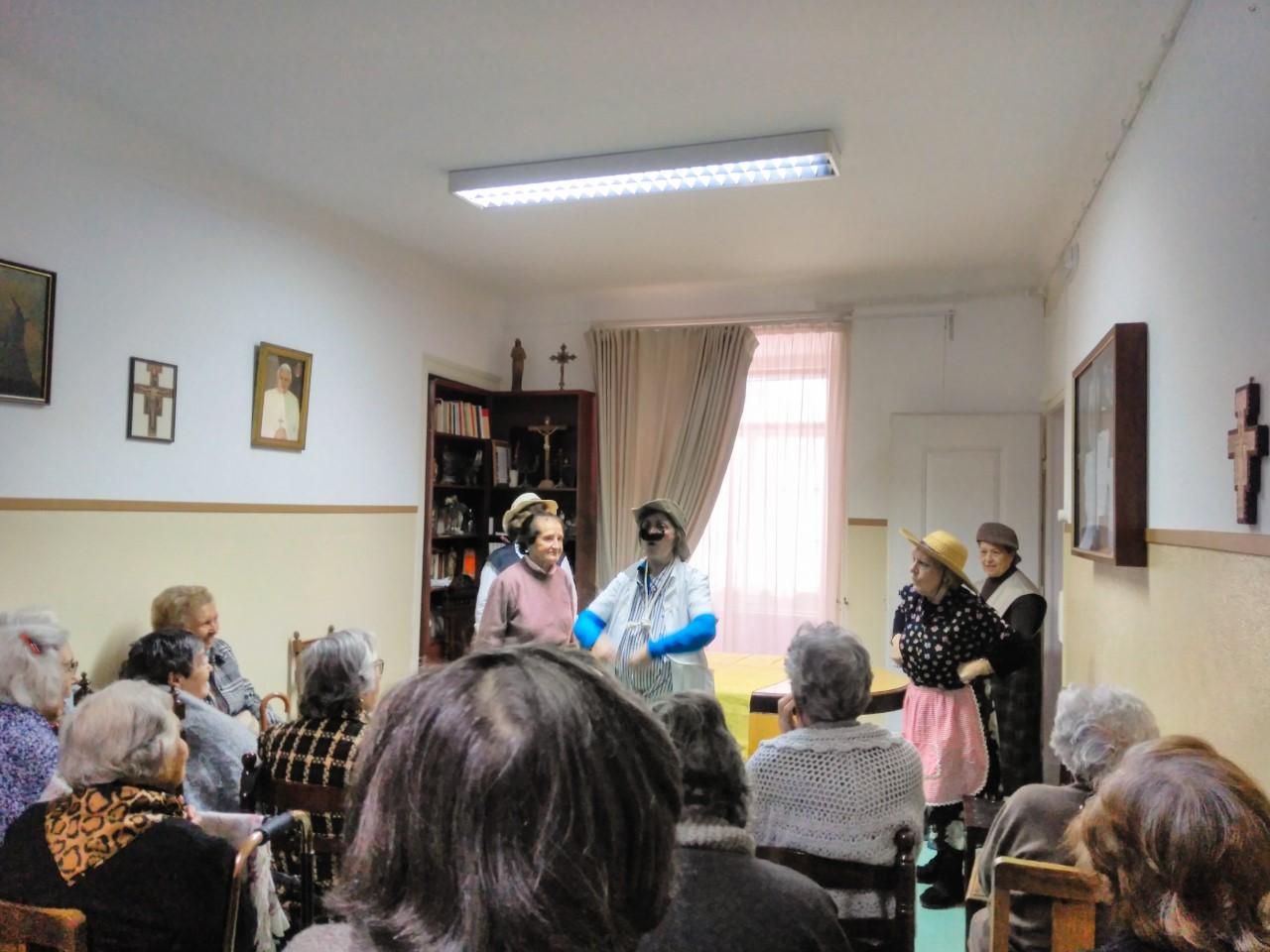 Grupo de Teatro Sénior foi atuar a Campo Grande