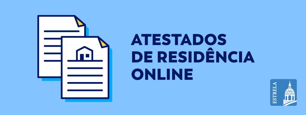 Atestados de Residência Online