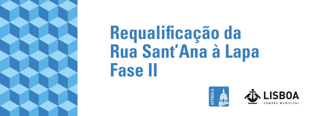 Requalificação dos passeios da Rua Sant'Ana à Lapa