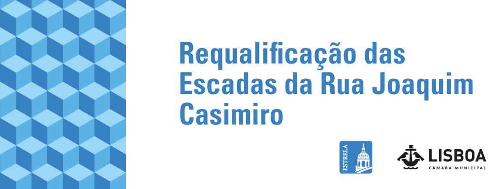 Requalificação das escadas da Rua Joaquim Casimiro