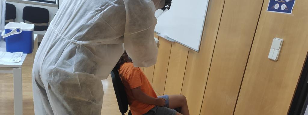 JFE realiza testes de despiste à COVID-19 no Programa de Férias de Verão