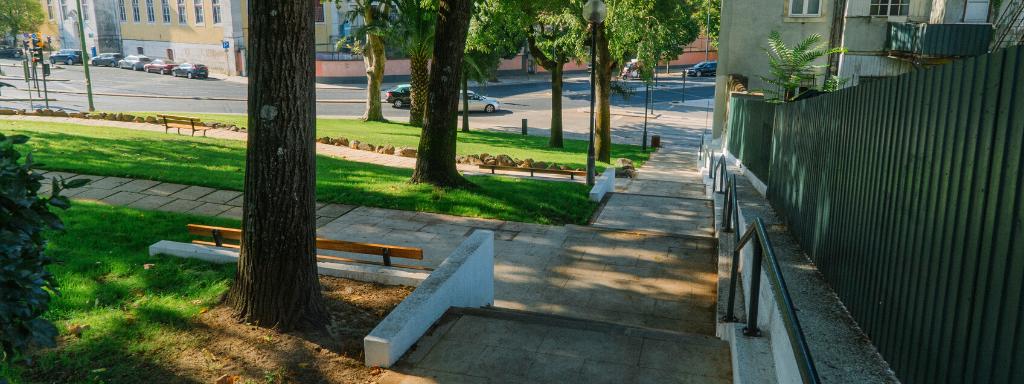 Requalificação da escadaria da Rua Domingos Sequeira