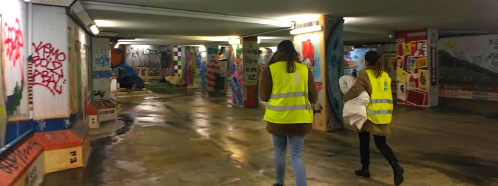 JFE promove Ação de Sensibilização à população sem abrigo perante a Vaga de Frio