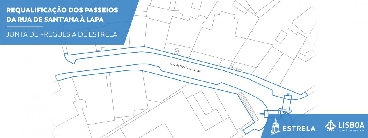 Requalificação dos passeios da Rua de Sant'Ana à Lapa