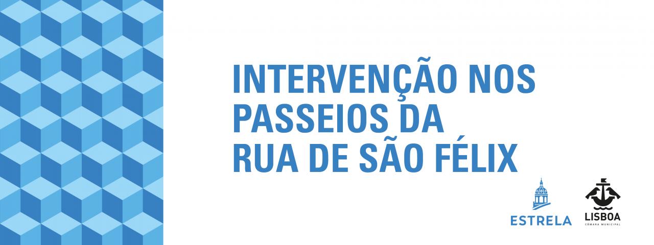 Requalificação dos passeios da Rua de São Félix