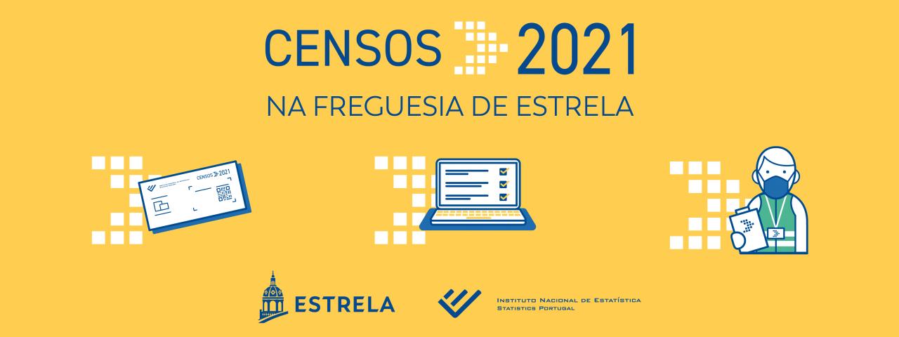 Censos 2021 na Estrela iniciam no dia 5 de abril