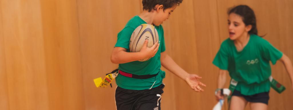 JFE promove o Desporto no colégio O Nosso Jardim