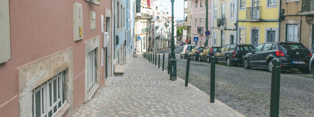 Requalificação dos passeios da Rua de São João da Mata concluída