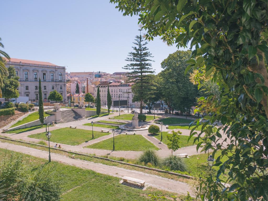 Jardim das Francesinhas / Jardim Lisboa Antiga